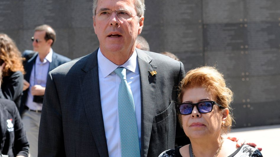 Jeb Bush auf Wahlkampf-Tour durch Europa