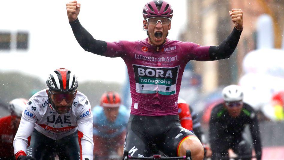 Pascal Ackermann vom Team Bora-hansgrohe