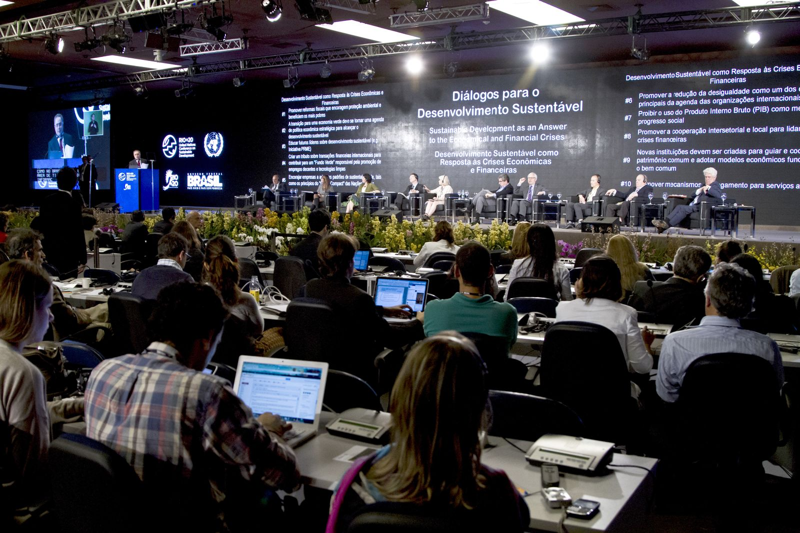 EINMALIGE VERWENDUNG Rio20 / Umwelt / Klimagipfel / Brasilien