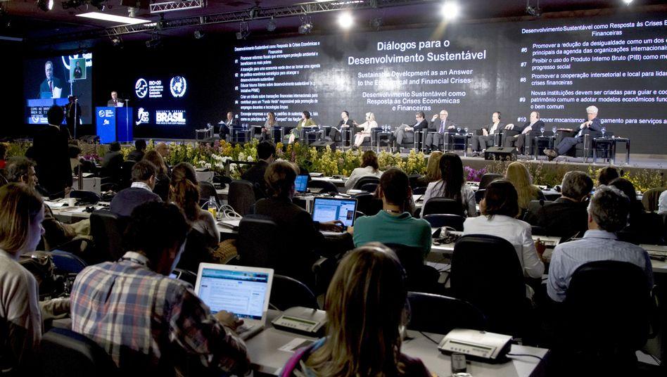 """Uno-Konferenz in Rio de Janeiro: """"Wir sind nicht glücklich mit dem Text"""""""