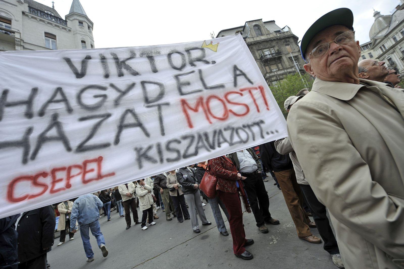 Proteste Ungarn