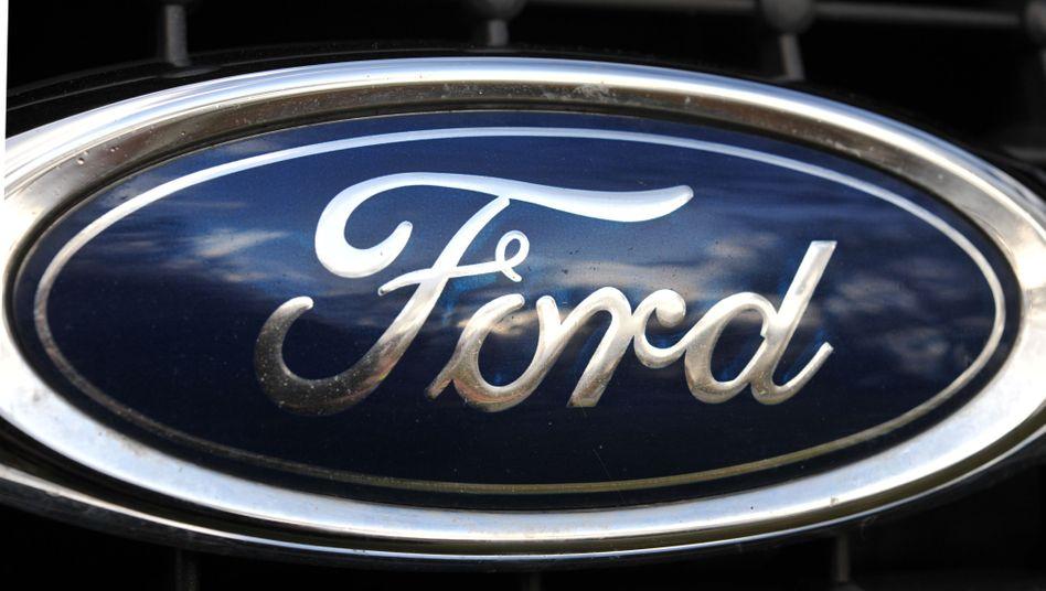 Ford-Logo: Zwölf Prozent mehr Autos als vor einem Jahr ausgeliefert
