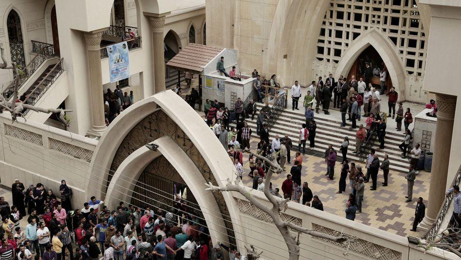 Koptische Kirche St. Georg im ägyptischen Tanta