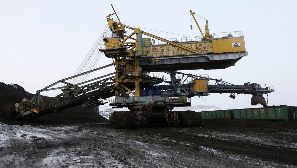 Kohlebergbau in Sibirien: Verbrennung fossiler Ressourcen setzt Treibhausgase frei