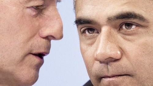 Deutsche-Bank-Chefs Fitschen, Anshu Jain: Führt die Gier von wenigen zum Hunger von Millionen?