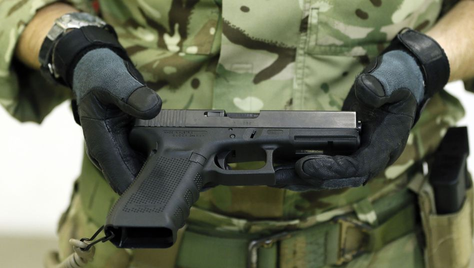 Eine Glock 17 (Archiv)
