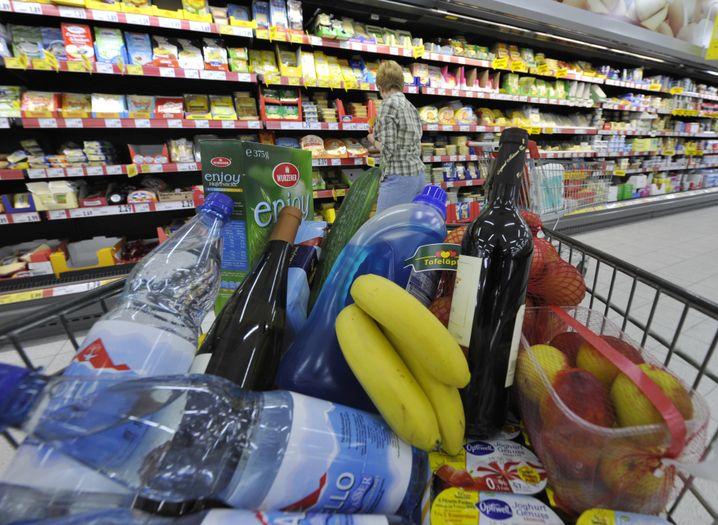 Supermarkt: Die Mehrwertsteuer für Lebensmittel könnte nach Unionsplänen steigen
