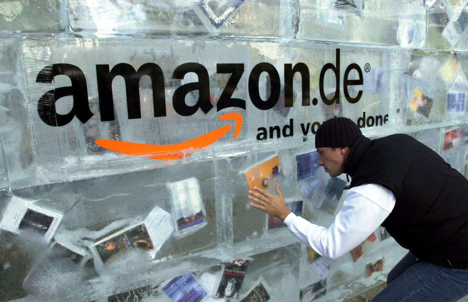 Amazon.de / Frankfurter Buchmesse / Eis