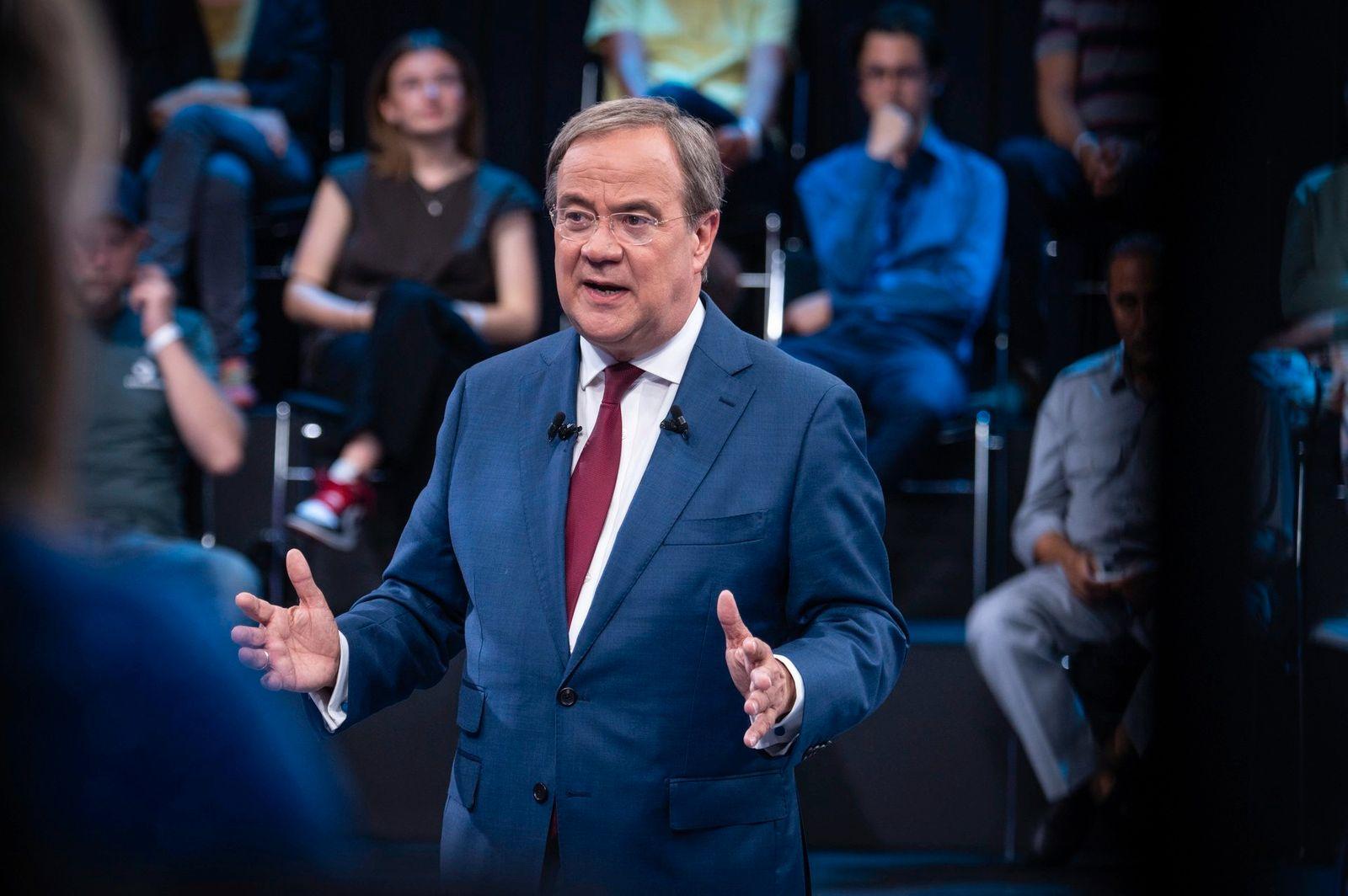 "ZDF-Sendung ""Klartext, Herr Laschet!"""