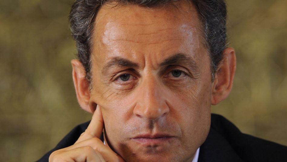 Frankreichs Präsident Sarkozy: Anschuldigungen von Bettencourt-Mitarbeiterin