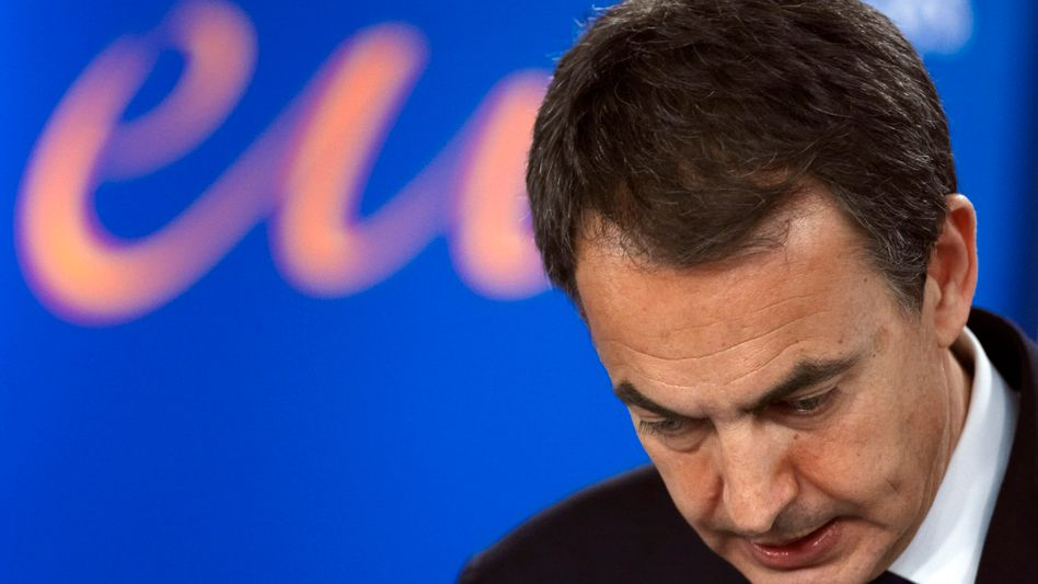 Spain's beleagured Prime Minister Jose Luis Rodriguez Zapatero.