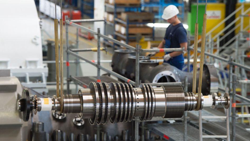 Siemens-Turbinenwerk in Görlitz (Archivbild): Die öffentlichen Haushalte dürften 2020 einen kräftigen Überschuss erzielen