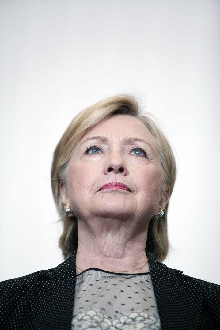 Prasidentschaftskandidatin Hillary Clinton