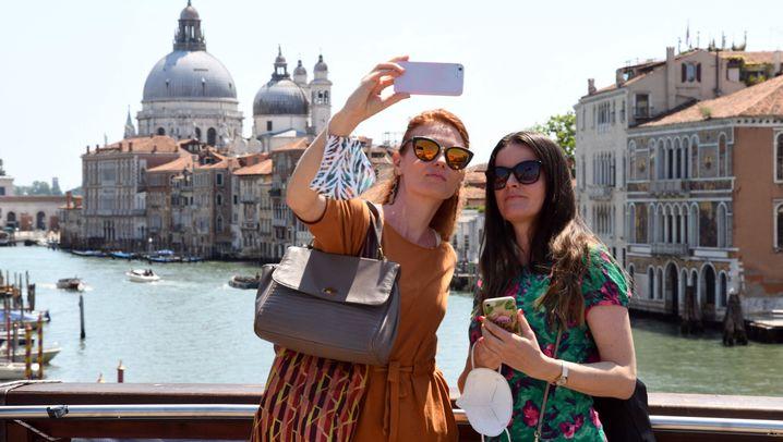 Venedig nach dem Lockdown: Die Straßen füllen sich