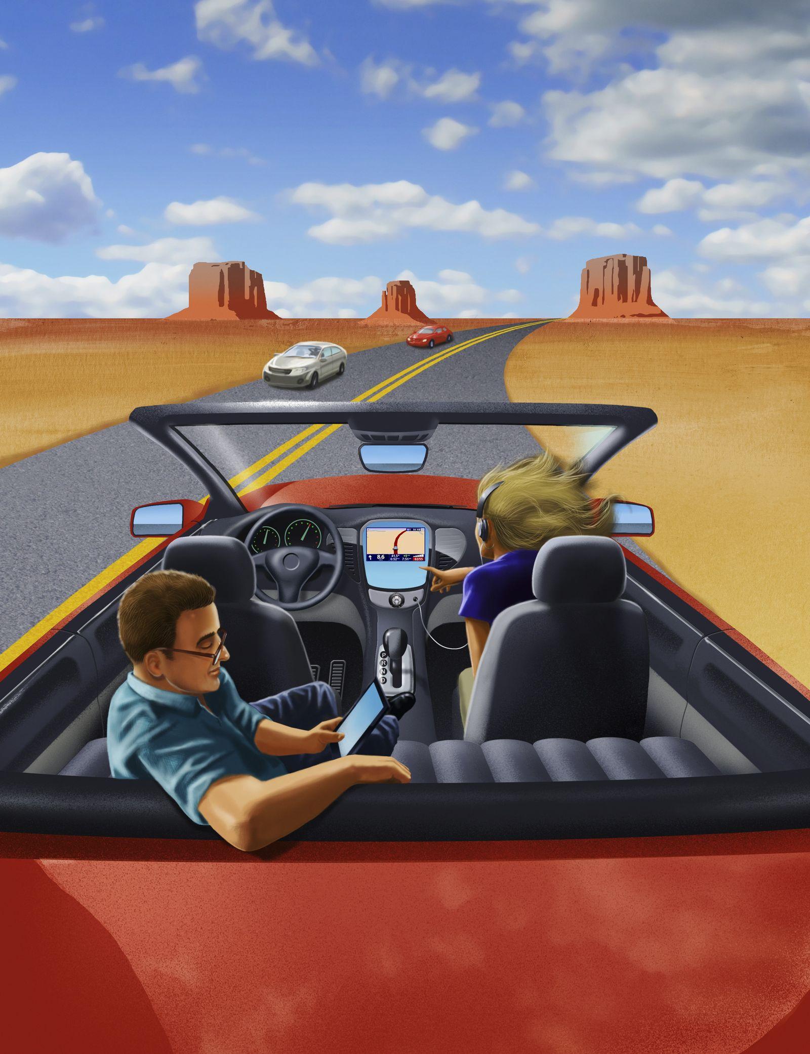 NICHT MEHR VERWENDEN! - Fahrerlos / Autonomes Taxi