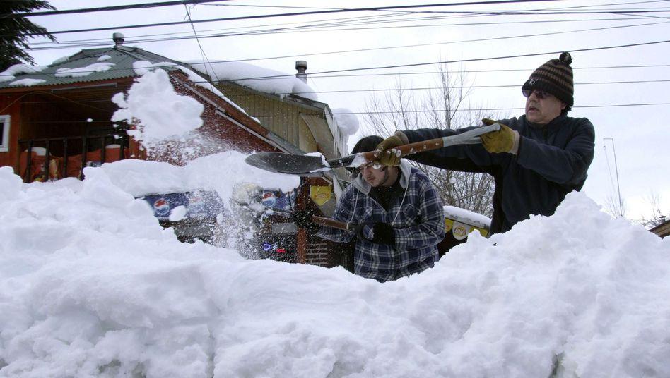 """Schneemassen in Chile: """"Das ist eine Anomalie"""""""