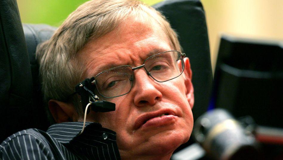 Stephen Hawking im Juni 2006