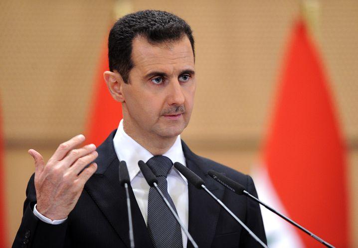 """Baschar al-Assad: Schnelles Ende des """"Damaszener Frühlings"""""""