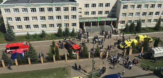 Kasan: Einzeltäter soll für tödlichen Angriff auf Schule verantwortlich sein
