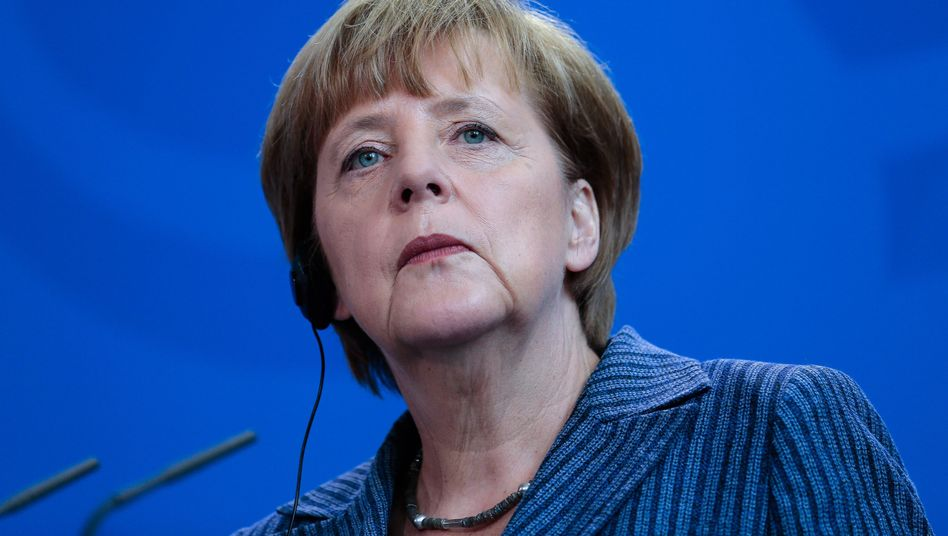 Kanzlerin Merkel: Klare Position gegen Kandidat Schulz