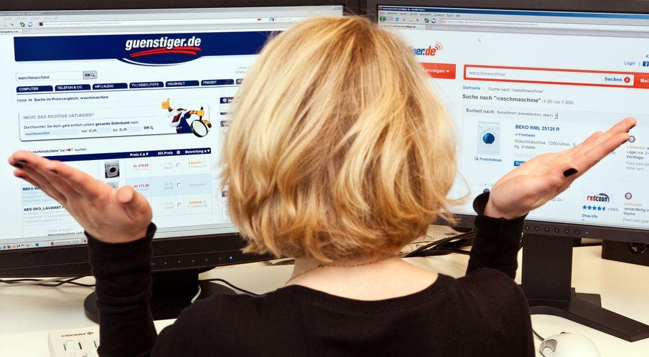 Online-Preisvergleich: Portale ohne Schnäppchen-Garantie
