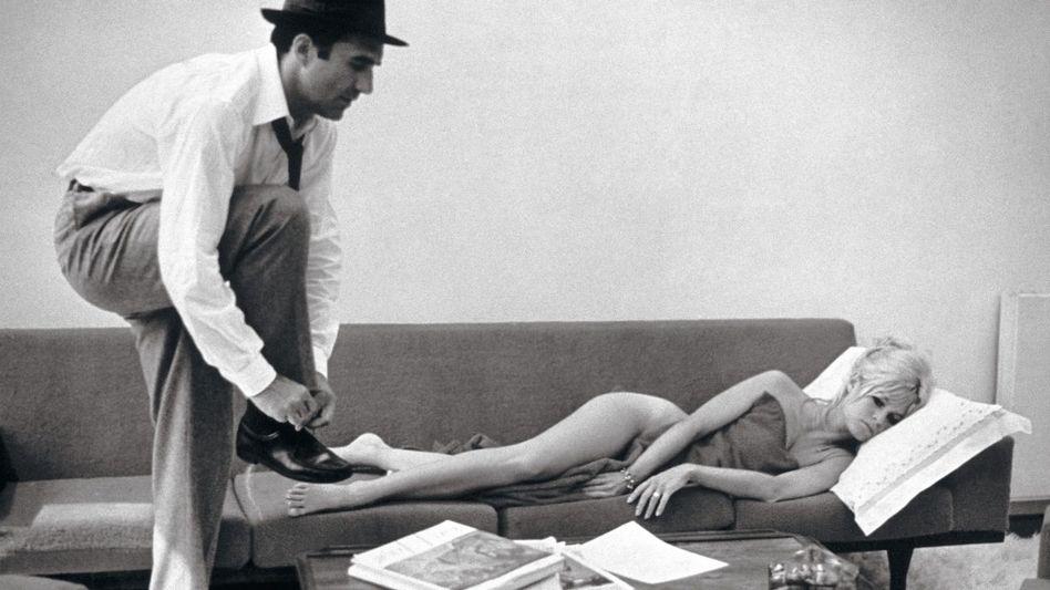 Darsteller Piccoli, Bardot in »Die Verachtung«, 1963: »Männlich und vielschichtig«