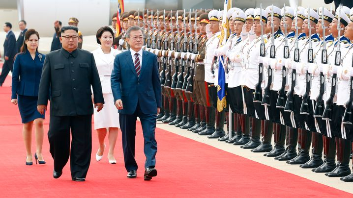 Moon trifft Kim: Gipfel in Pjöngjang