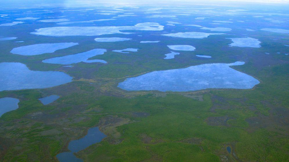 Methanhydrate: Arktischer Treibhausgas-Tresor