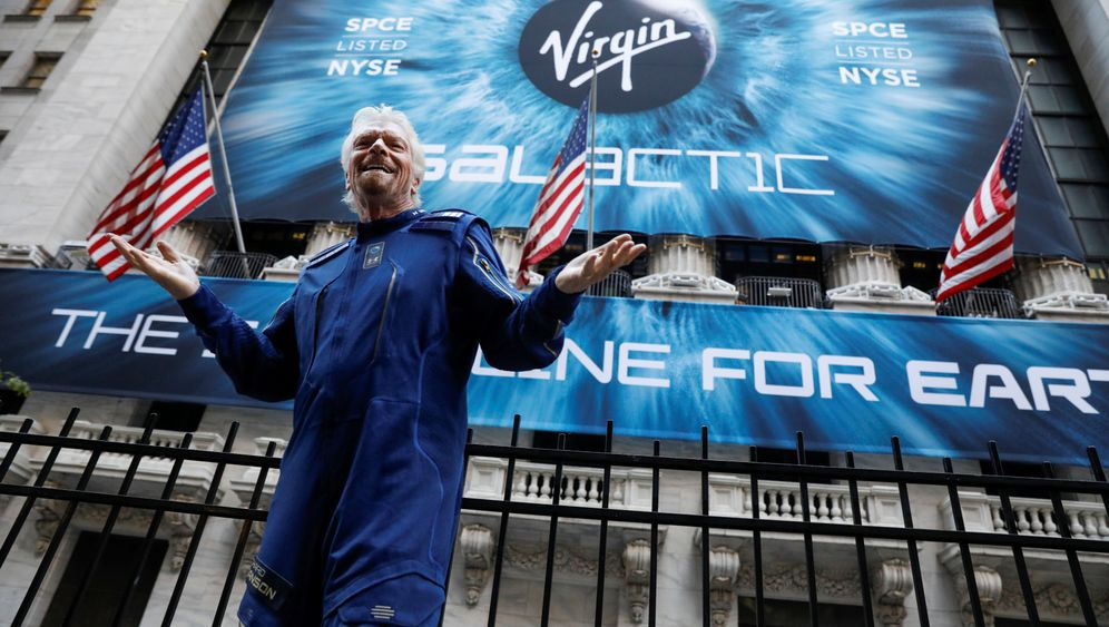 Virgin Galactic: Bransons Weltraumkonzern an der NYSE gelistet