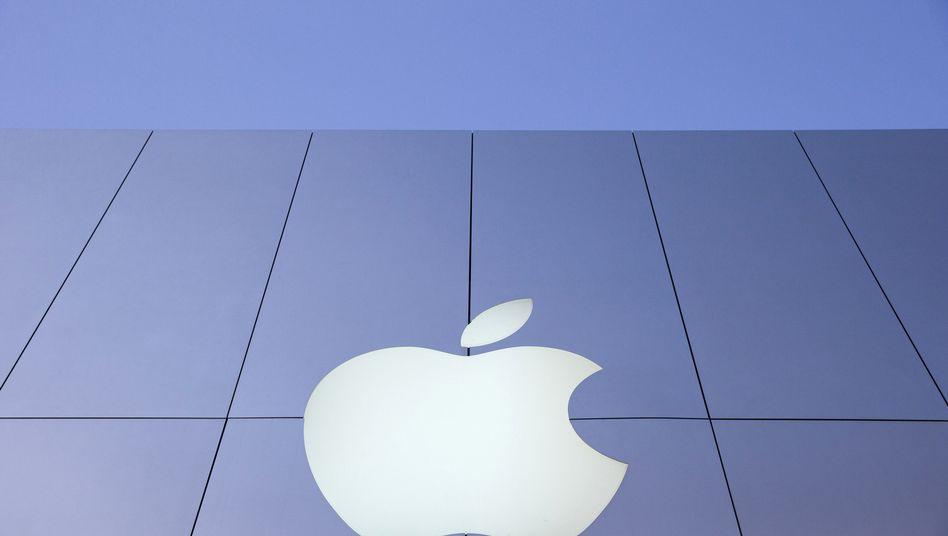 Apple-Logo (in San Francisco): iPhoto wird durch die neue Photos-App ersetzt