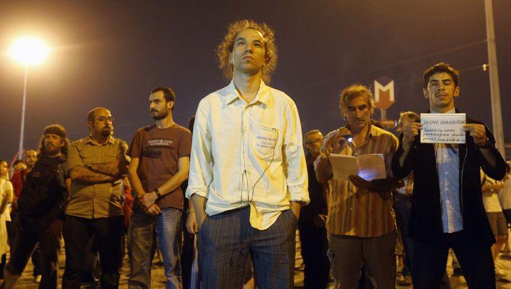 Türkei: Stiller Protest in Istanbul