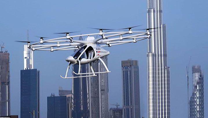 Volocopter: Über den Dächern Dubais