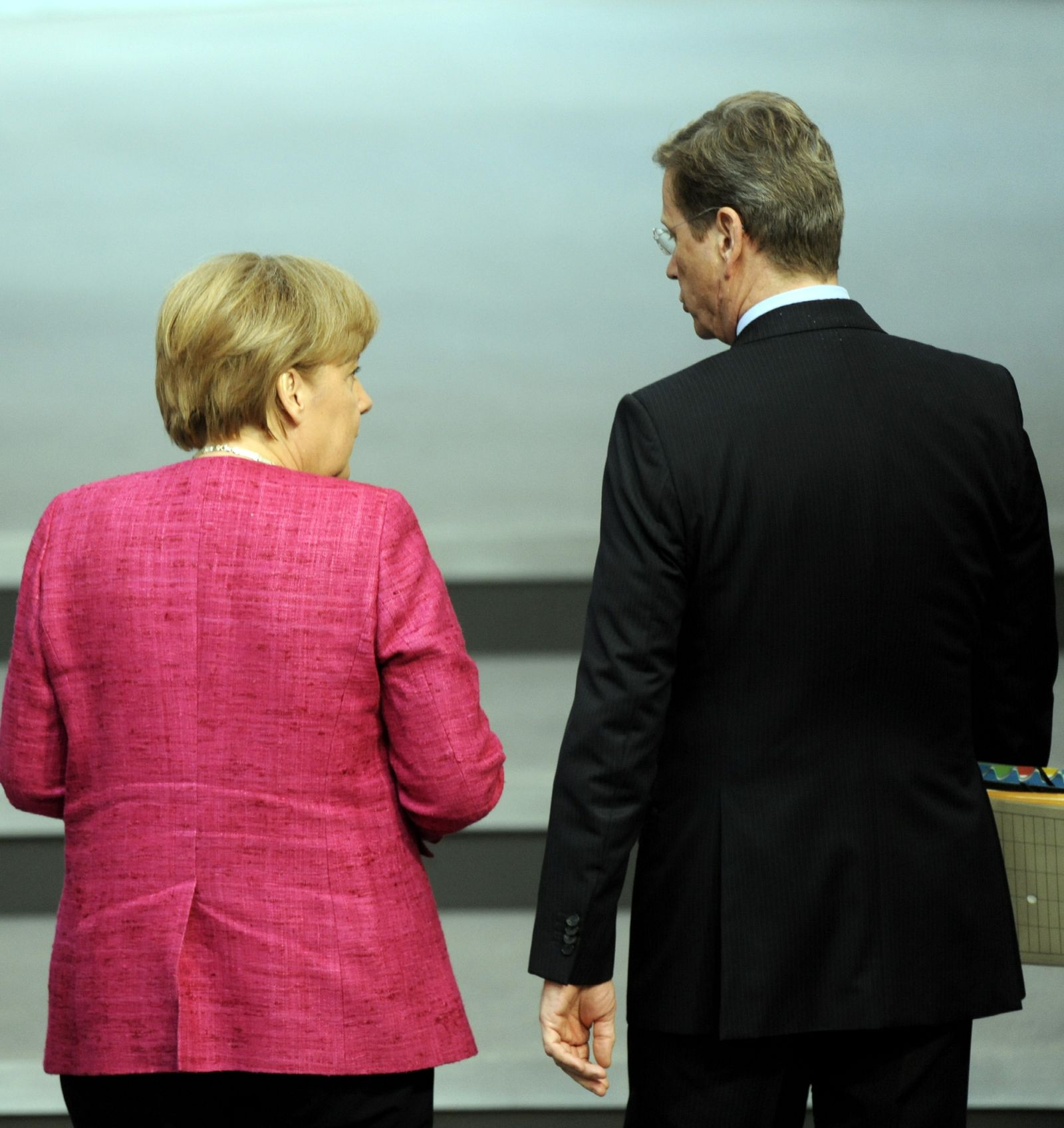 NICHT VERWENDEN Angela Merkel / Guido Westerwelle