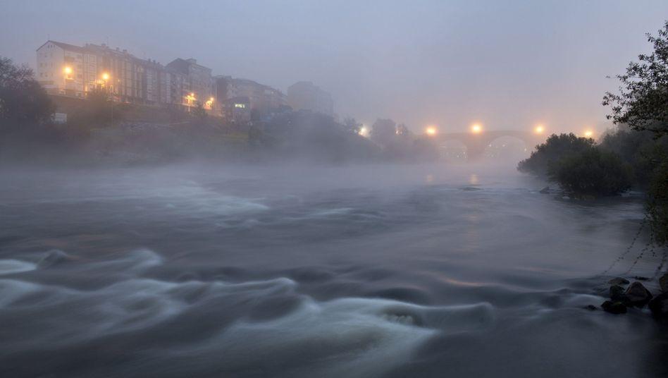 Nordwesten Spaniens: Heftige Winterstürme