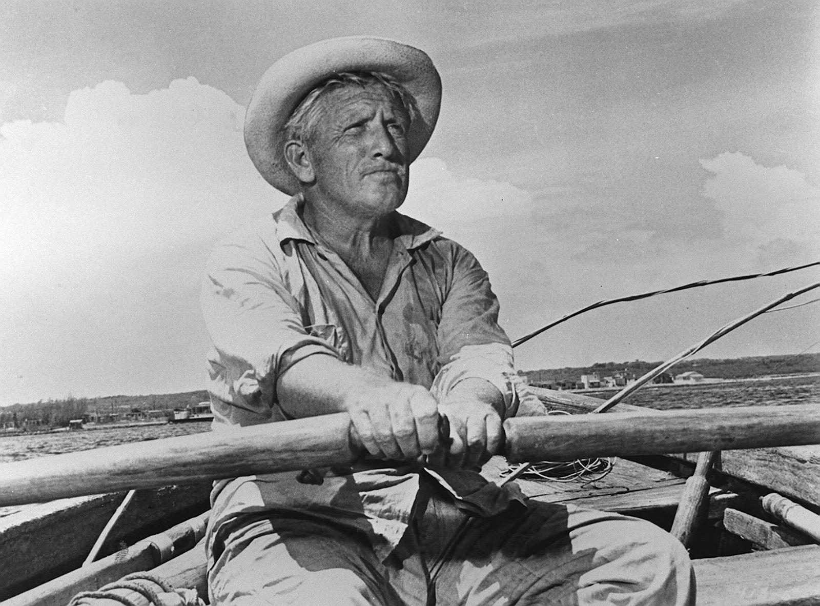 DER ALTE MANN UND DAS MEER Großartige Verfilmung des gleichnamigen Romans von Ernest Hemingway In e