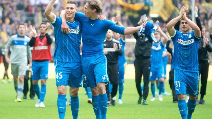 Hoffenheim-Rettung gegen Dortmund: Drama in Blau-Weiss