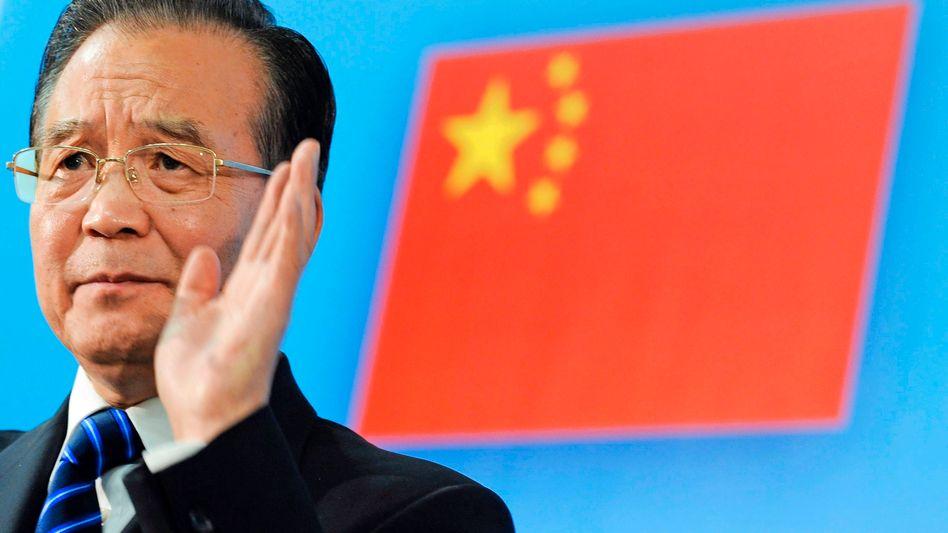Chinas Ministerpräsident Wen: Forderungen energisch zurückgewiesen