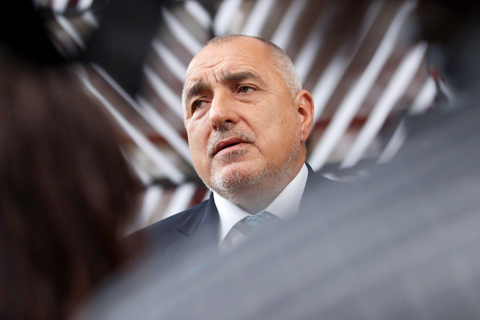 Boyko Borissov PM Of Bulgaria Attends The European Council
