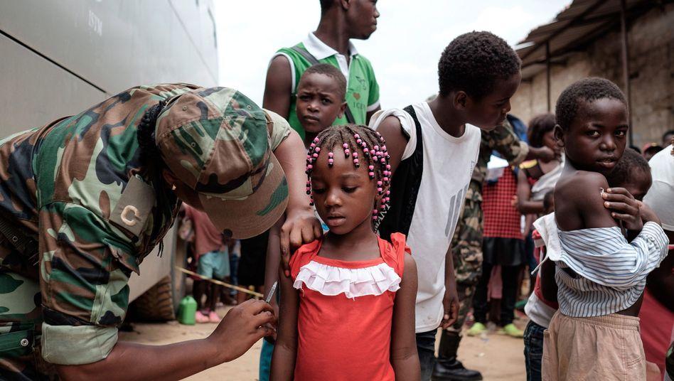 Gelbfieberimpfung (in Angola)