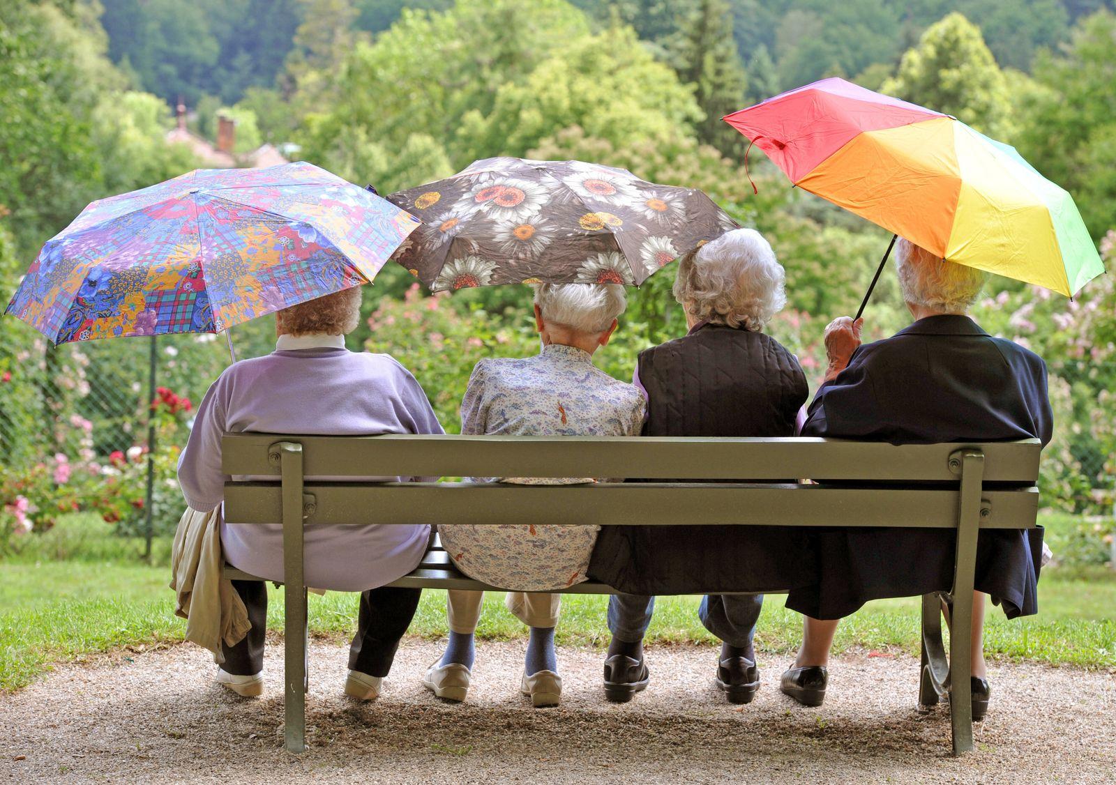 Rente / Rentner / Senioren