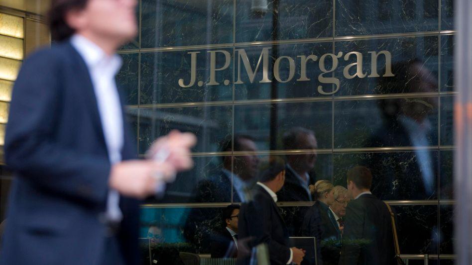 Gebäude der US-Bank JPMorgan in London (Archivbild): Hohe Vermögenswerte