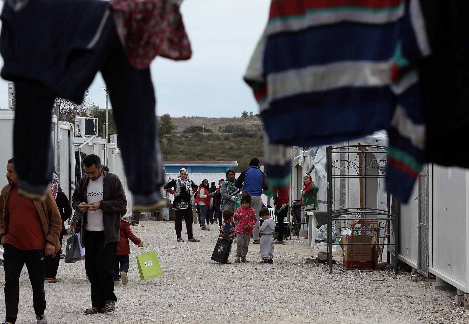 Griechenland/ Athens/ Flüchtlinge