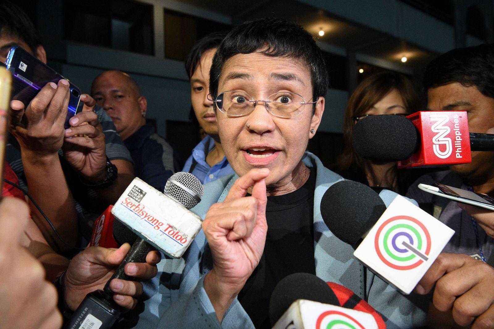 PHILIPPINES-PRESS-COURT-RESSA