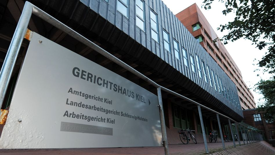 Gerichtsgebäude in Kiel (Archivbild)