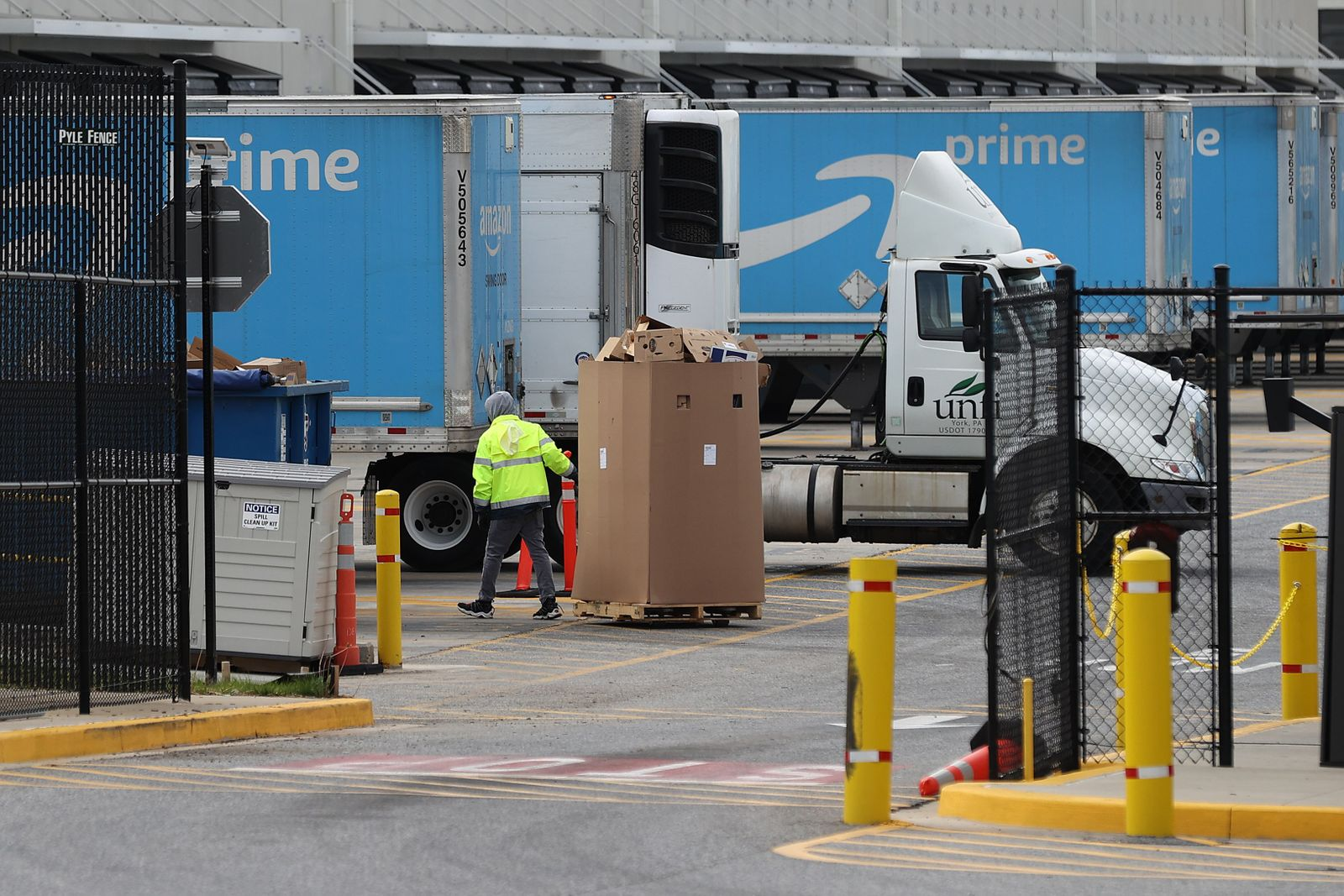 Amazon Continues To Hire As Demand Soars During Coronavirus Shutdown