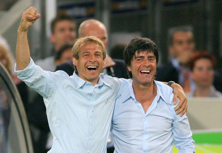 """Klinsmann und Löw bei der WM 2006: """"Es gibt keinen Nichtangriffspakt"""""""