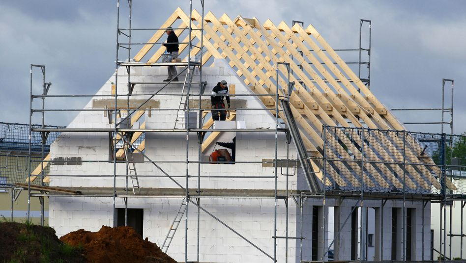 Hausbau (in Schwerin): Sicherheit ist für die Deutschen ein Haus