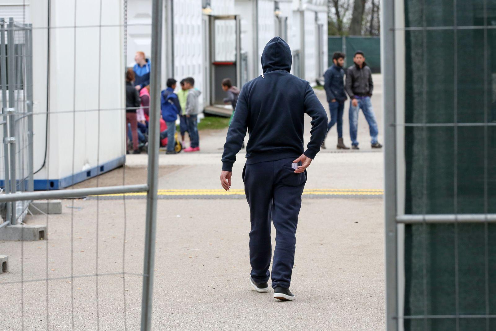 Flüchtlingsunterkunft/ Hamburg