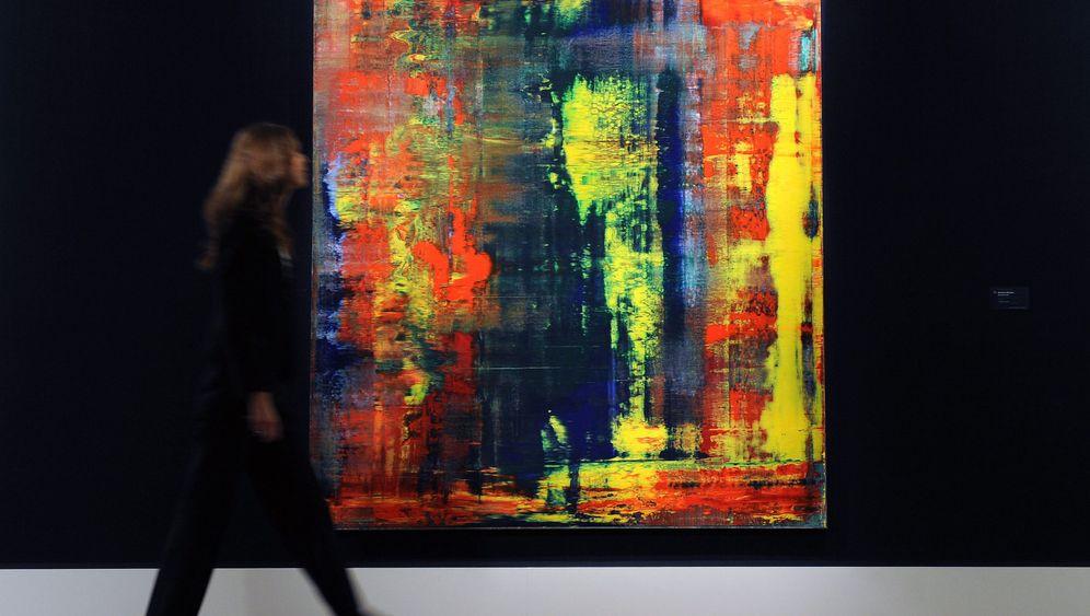 Das abstrakte Rekordbild: Gemälde von Gerhard Richter für Höchstpreis verkauft