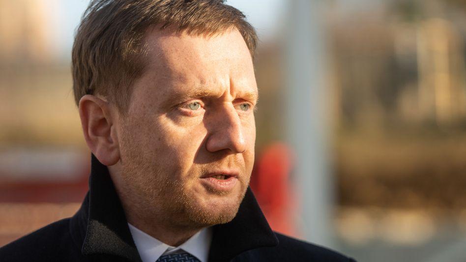 """Sachsens Ministerpräsident Michael Kretschmer: """"Entscheidend muss immer die Situation vor Ort sein."""""""